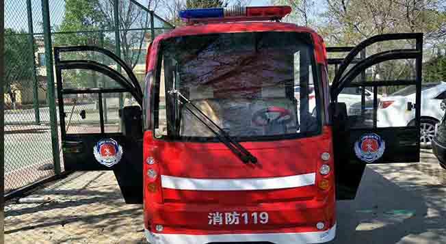 知名创业园区采购金恺消防巡逻车,保障厂区安全