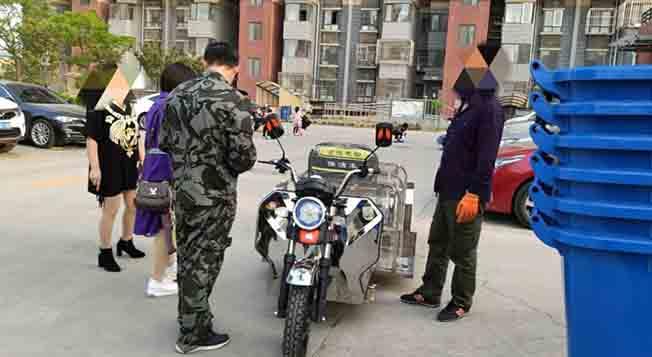 北京小红门社区整体更新小区运垃圾桶车,专业高效