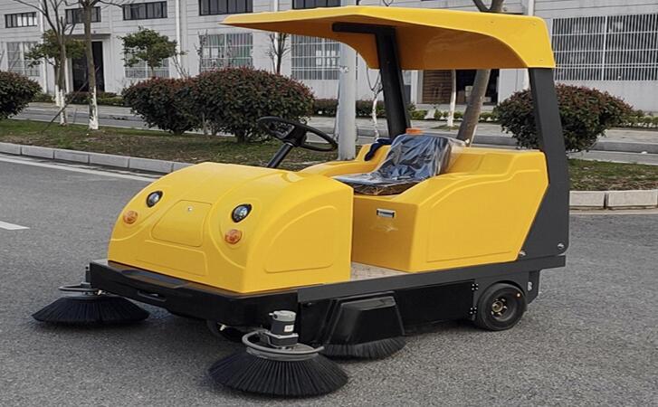 电动驾驶式扫地车都有哪些优势-北京金恺环保