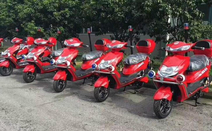 电动两轮消防巡逻车-电动两轮消防巡逻车厂家 价格 优势-金恺环保