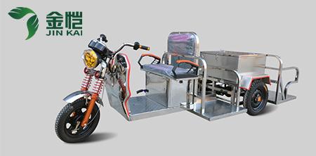 垃圾车选金恺环保电动四桶车,这事儿干的漂亮。