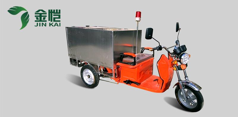 电动三轮垃圾车成为环卫工作业的锋线力量