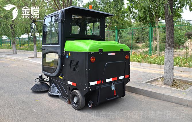 揭秘:物业公司为何都采购电动扫地车?