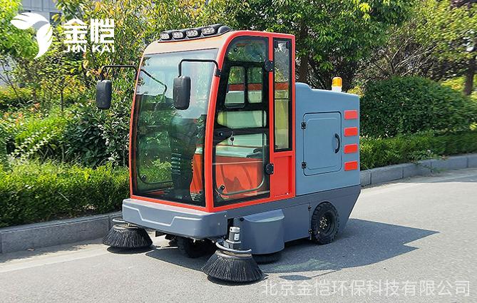 工厂适合配备什么样的扫地车?——金恺建议