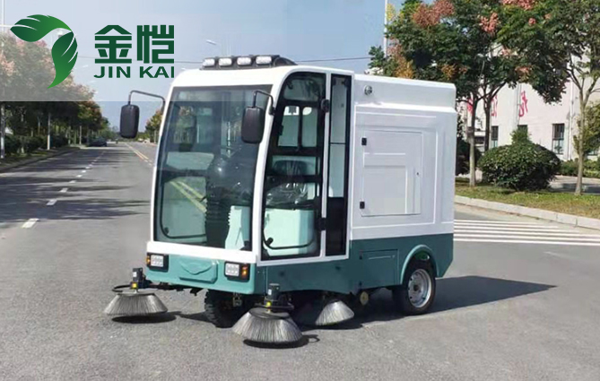 商用清洁行业变革 金恺扫地车产品被看好