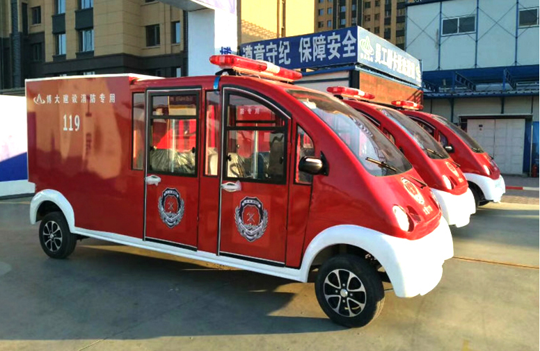 电动消防车产品性能受青睐 冬季优惠促销中