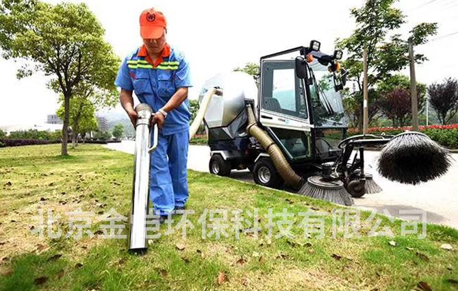 公园扫地车、景区扫地车怎么选?金恺环保看一看