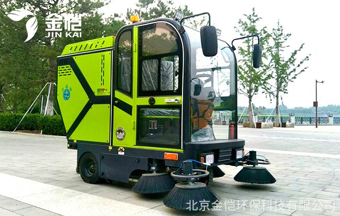 适合广场、街容使用的电动扫地车长什么样?