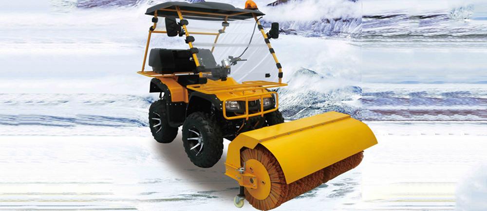 大雪纷飞,金恺扫雪车 有它走遍天下