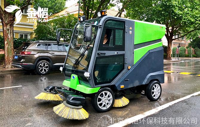 金恺环保扫地车产品 助力清洁行业发展