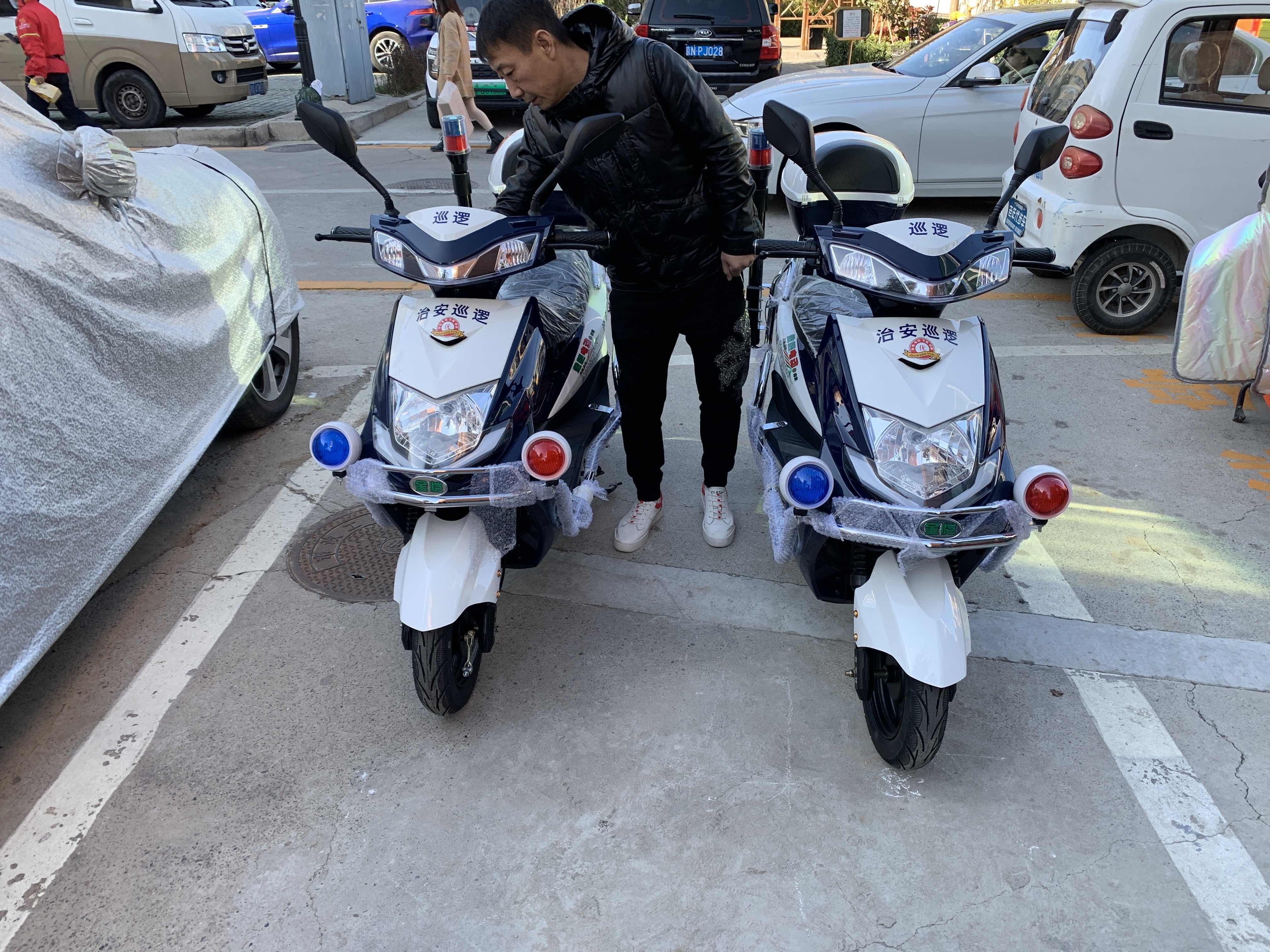 金恺电动巡逻车协同社区治安管理,促进社区秩序安定