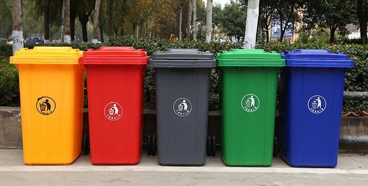 塑料垃圾桶 JK-LJT-06
