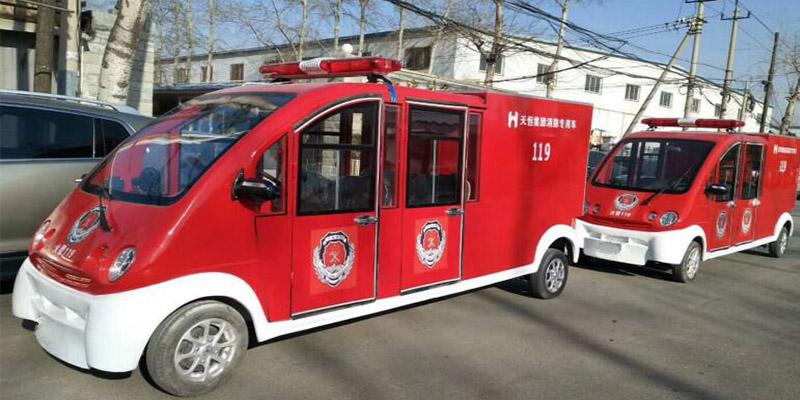 电动消防车JK-XF-002