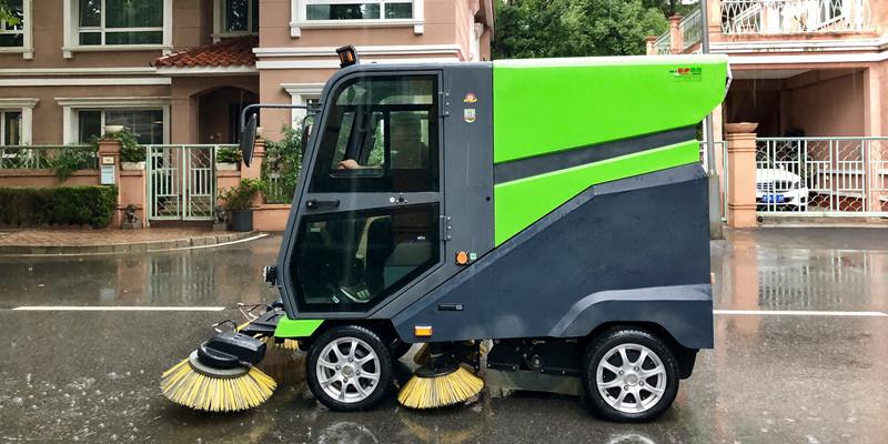 电动消毒清扫车(带高压冲洗)JK-SD-400A