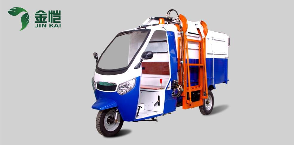 挂桶清运车JK-FT-2500B