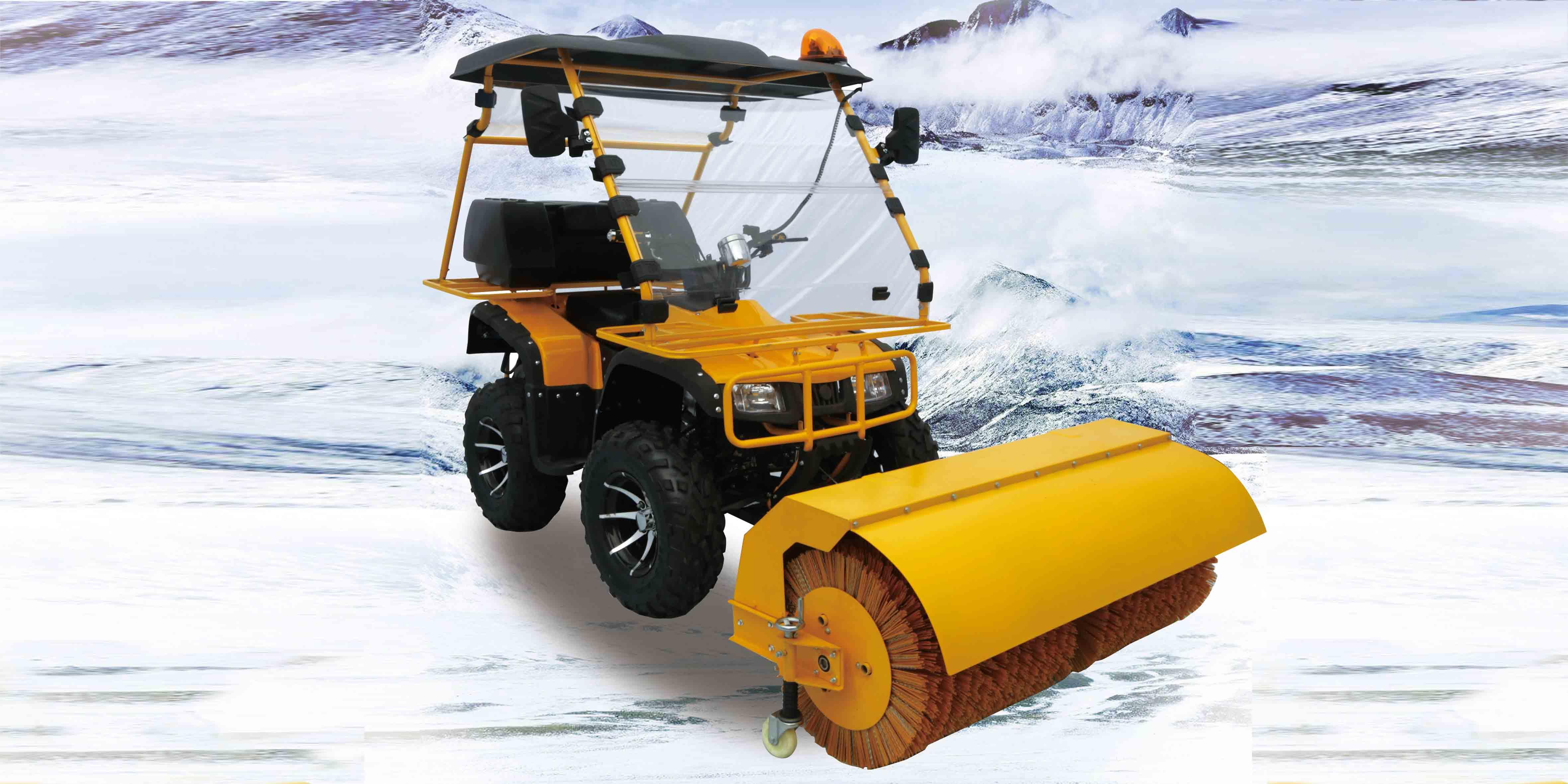 高效小型扫雪车 JK-SX-02