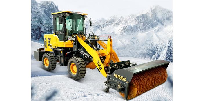 装载式扫雪车 JK-SX-04