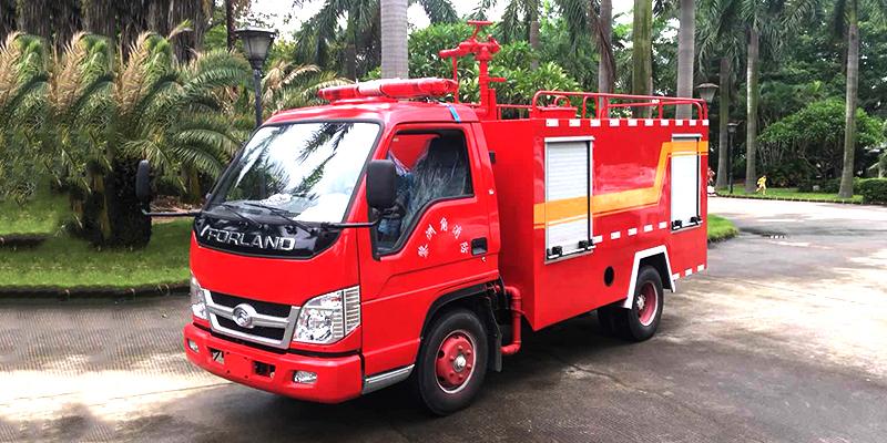 消毒车 福田2吨消防车JK-XF-GW2T