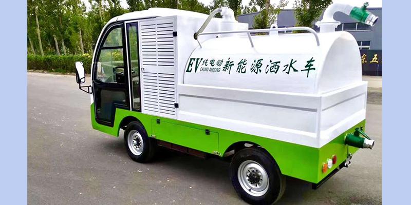 电动洒水吸污车 JK-SS-4000