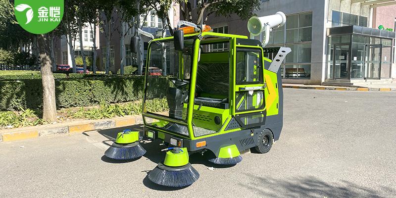五刷双风机扫地车 JK-SD-2300