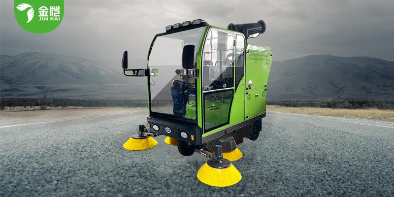 高压冲洗扫地车JK-SD-2200B